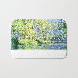 Monet: Bend in the River Ept Bath Mat