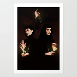 The Fates Art Print
