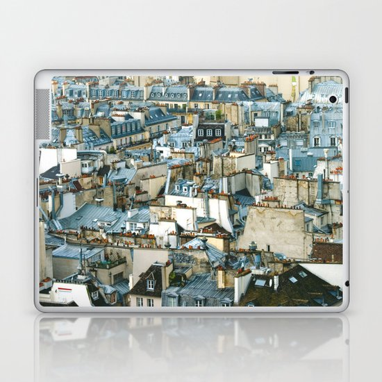 Toits de Paris Laptop & iPad Skin