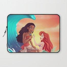 Moana and Ariel Laptop Sleeve