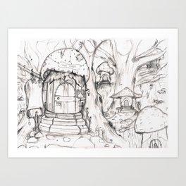 Only in dreams.  Art Print
