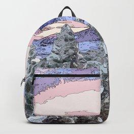 snow fog mountain  Backpack