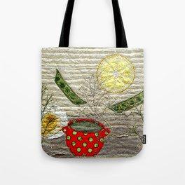 Lemon Landscape Tote Bag