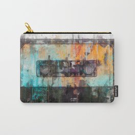 Cassette painting  - Classic Tape retro illustration Carry-All Pouch