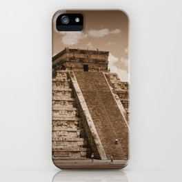 Chichen Itza Sepia iPhone Case