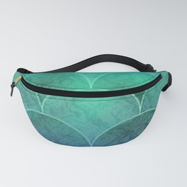 Abstract Mermaid Scales Fanny Pack
