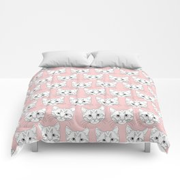 a lot of cats Comforters