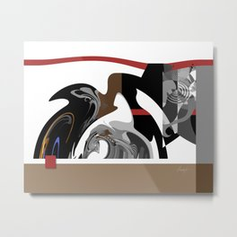 Harmonious Flow Metal Print