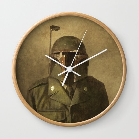 General Fettson  - square format Wall Clock