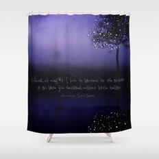 A MILLION STARS Shower Curtain