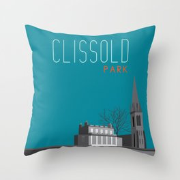 Clissold Park London  Throw Pillow