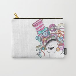 365 cabelos - sewing Carry-All Pouch