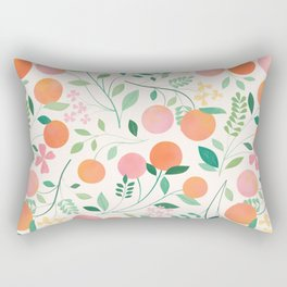 Vanilla Peaches Rectangular Pillow
