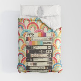VHS & Rainbows Comforters