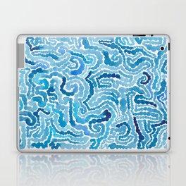 Blue Painting Laptop & iPad Skin