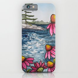 Canadian Cottage Life iPhone Case