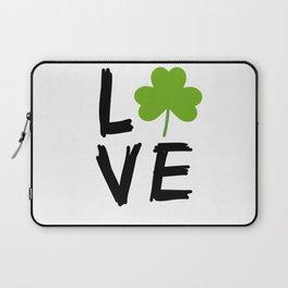 Love St Patricks Day Laptop Sleeve