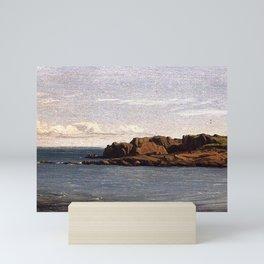 Sanford Robinson Gifford - Study on the Massachusetts Coast Mini Art Print