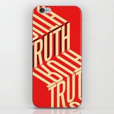 Finding Truth iPhone & iPod Skin