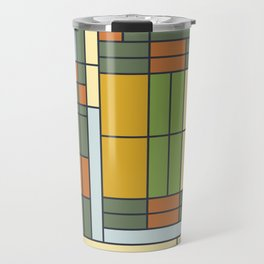 Frank lloyd wright pattern S01 Travel Mug