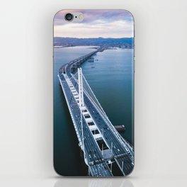 Oakland - San Francisco Bay Bridge iPhone Skin