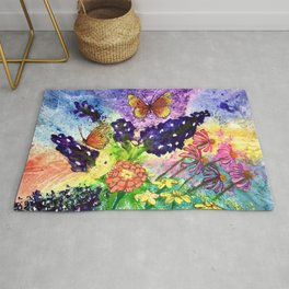Bluebonnet Bouquet Rug