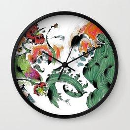 Godzilla vs Biollante a'la DANG Wall Clock