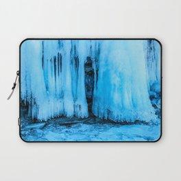 Ice curtain of the lake Baikal Laptop Sleeve
