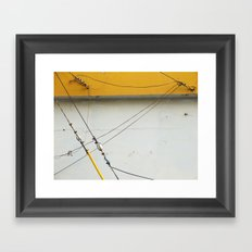 Abstract Tension Framed Art Print