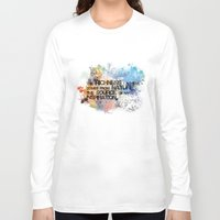 underwater Long Sleeve T-shirts featuring Underwater by Allison Reich
