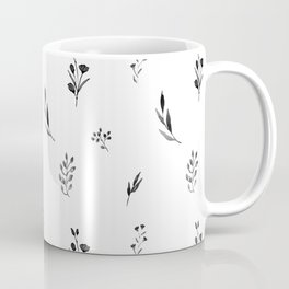 Little botanics black&white Coffee Mug