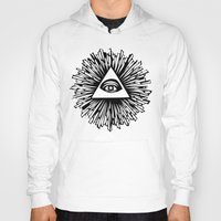 all seeing eye Hoodies featuring All seeing camera eye by dsimpson