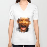 melissa smith V-neck T-shirts featuring Will Smith by Alice Z.