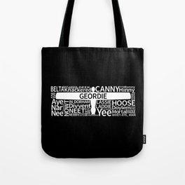 Geordie Slang Tote Bag