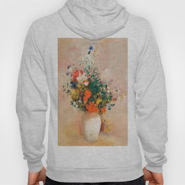 Vase of Flowers by Odilon Redon Hoody