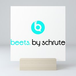 Beets by Schrute Mini Art Print