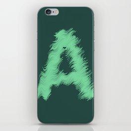 Wavey A iPhone Skin