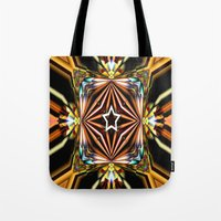 las vegas Tote Bags featuring Las Vegas! by Cherie DeBevoise