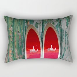 Vintage Skis - Fischer Alu Rectangular Pillow