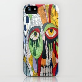 Smile at fear iPhone Case