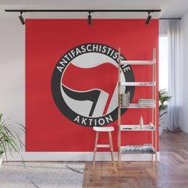 Antifaschistische Aktion Wall Mural
