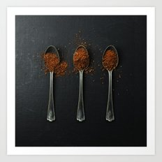 I have measured out my life with coffee spoons Art Print
