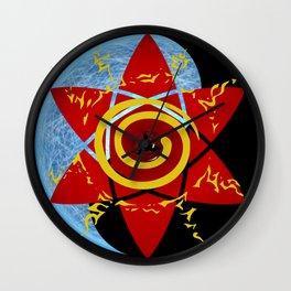 Naruto seal Wall Clock