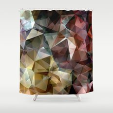 FIRE AND EARTH Shower Curtain