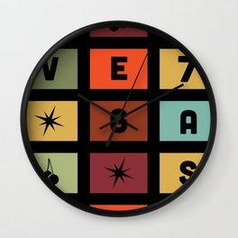Rollin slots Wall Clock