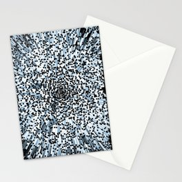 Blue Block art Stationery Cards