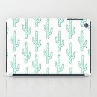 cactus iPad Cases featuring Cactus by Emma Winton