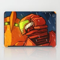 samus iPad Cases featuring Samus (Metroid) by Peerro