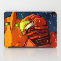 metroid iPad Cases featuring Samus (Metroid) by Peerro