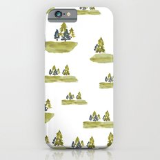 Varigated pine forest Slim Case iPhone 6s